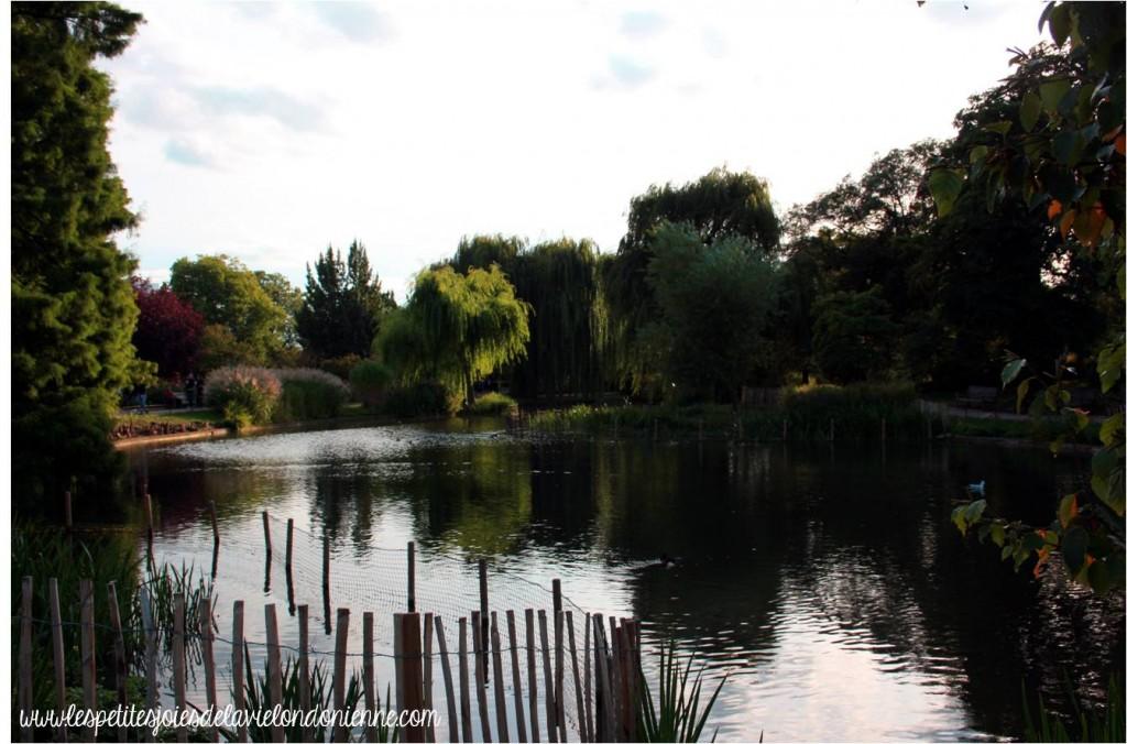automne à Londres - Regent's Park