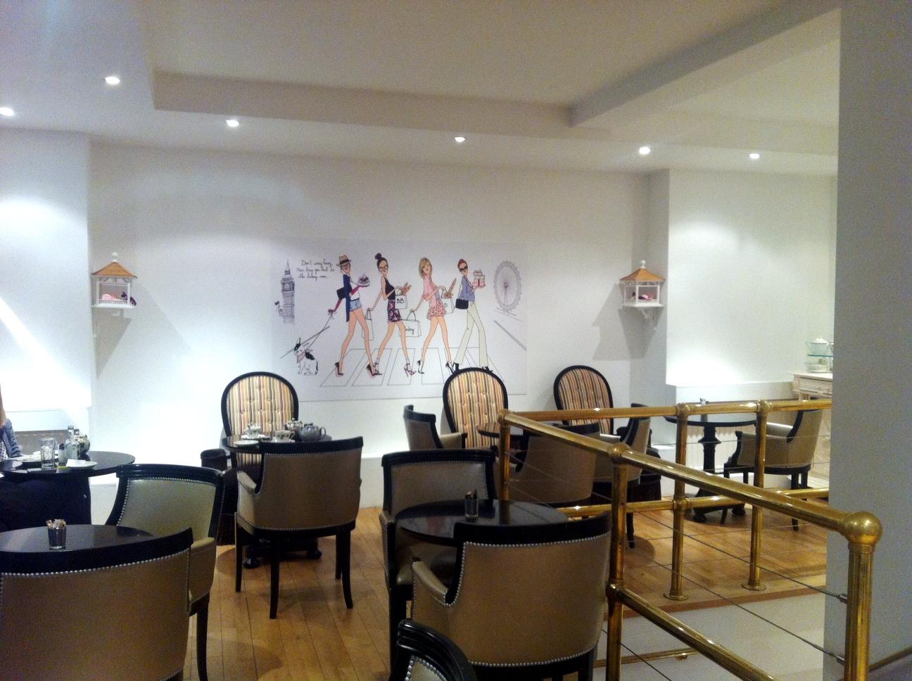 Salon de th londres bb bakery for Decoration salon de the chicha