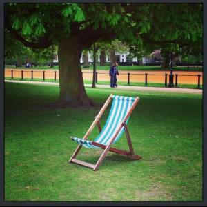 Bronzer à Londres - Hyde Park