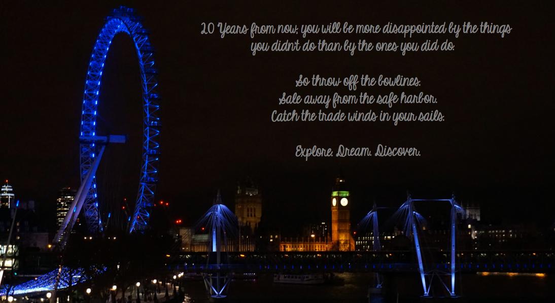 Un an à Londres