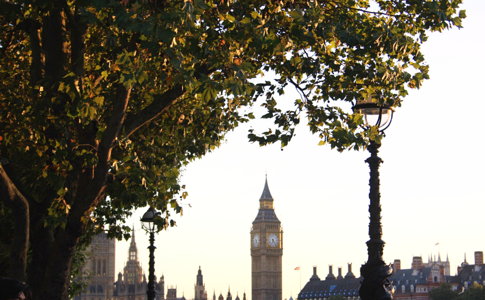 Big ben autum light 2
