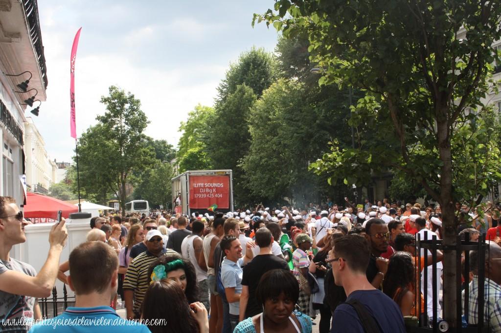 Carnaval de Notting Hill foule