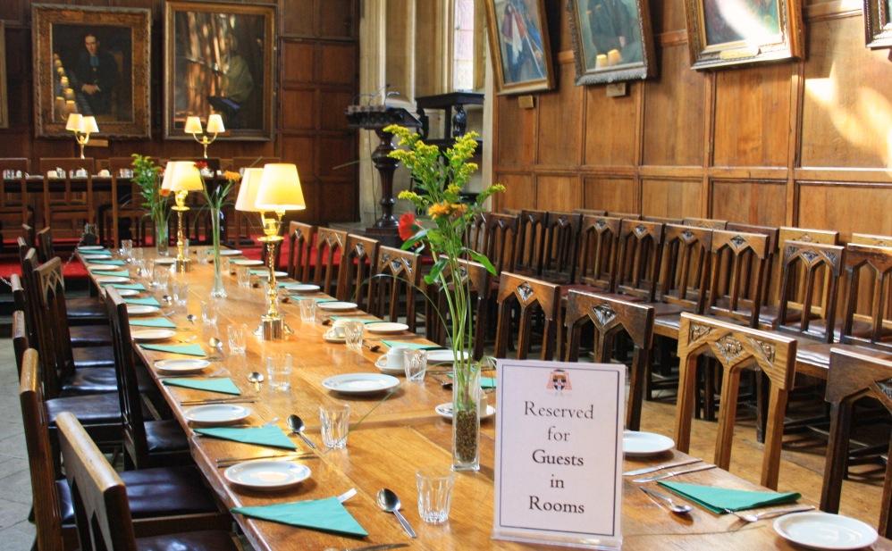 Oxford Christ church The Hall 3
