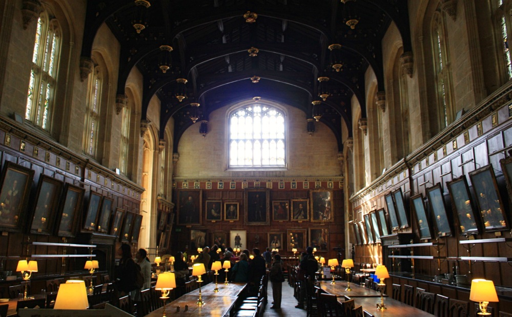 Oxford Christ church The Hall