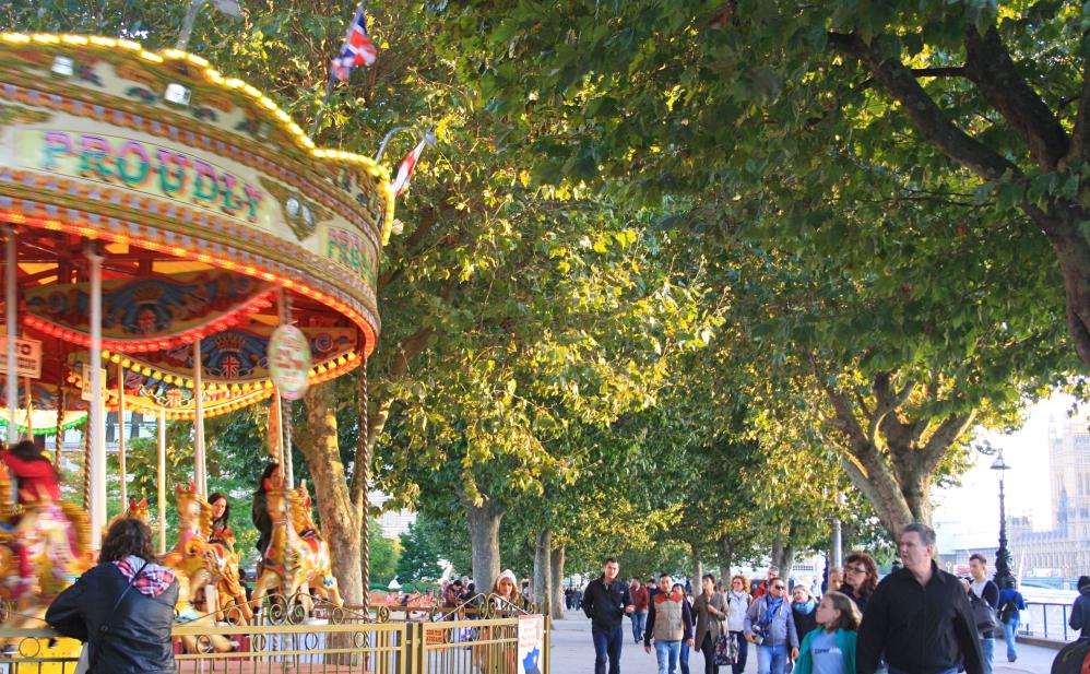 Southbank Autumn colours