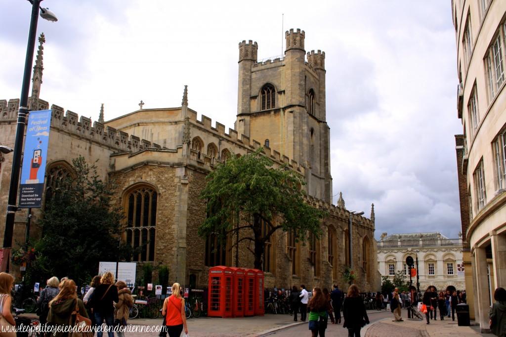 visiter Cambridge en une journée