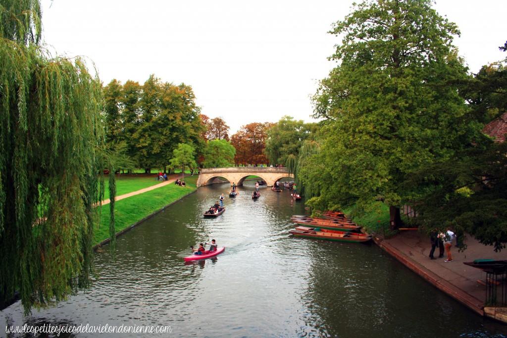 visiter Cambridge en une journée - riviere Cam