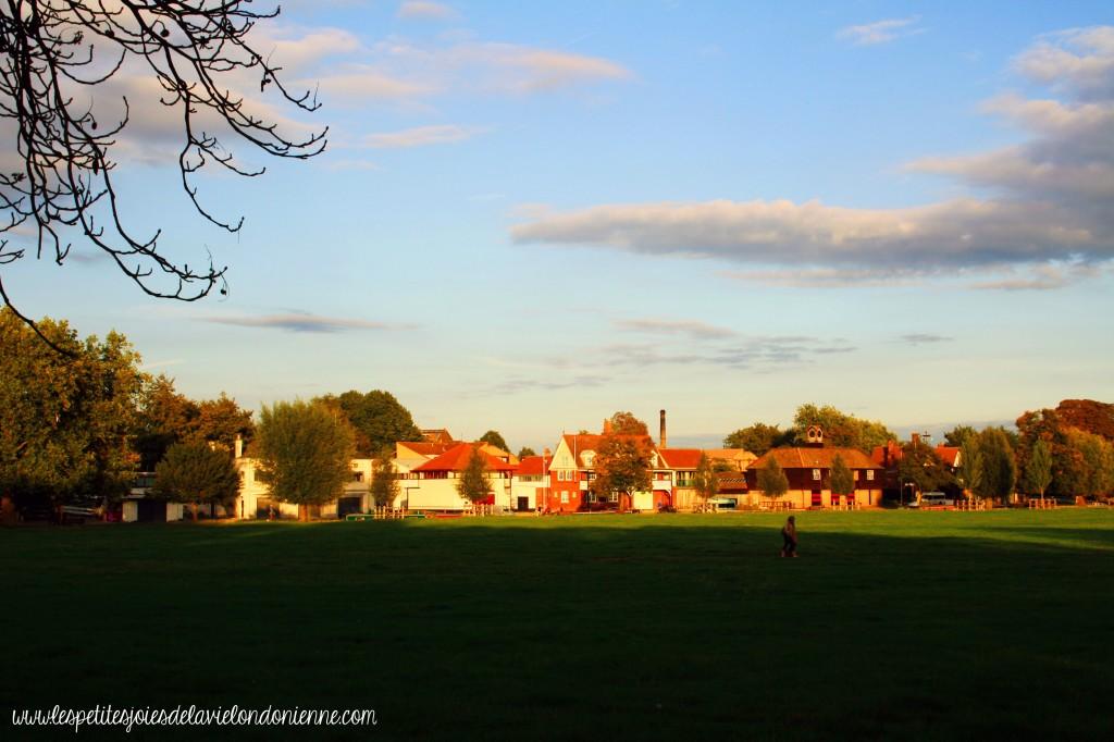 Coucher de Soleil sur Cambridge
