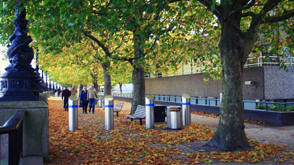automne à Londres - Southbank