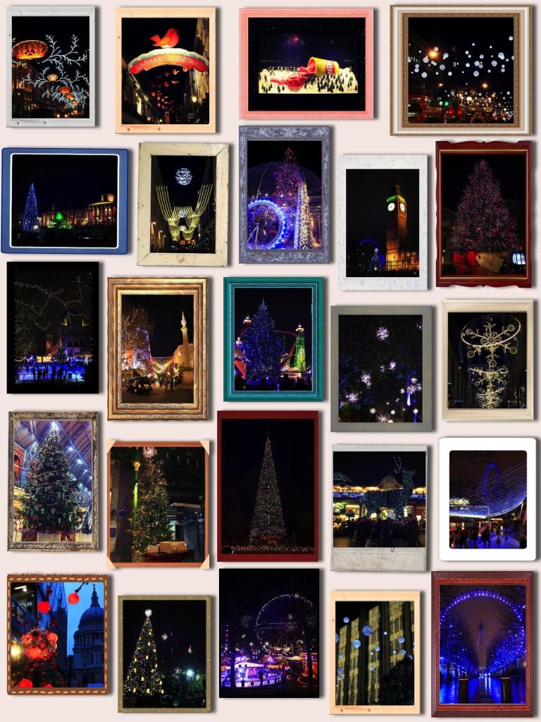 Les décorations de Noël à Londres