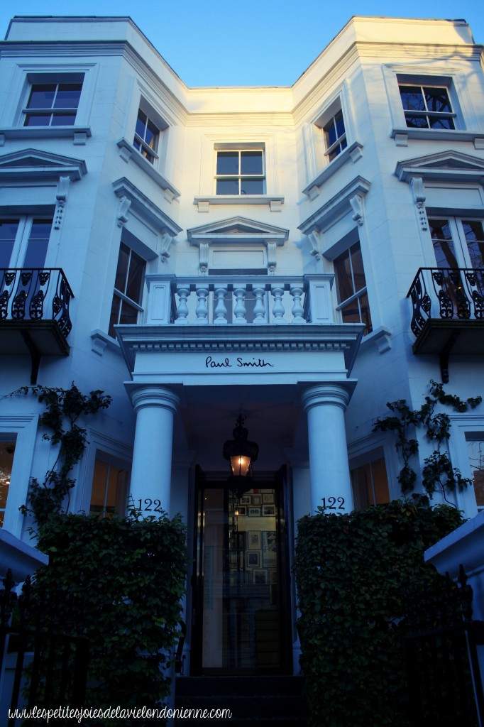 balade d'automne à Notting Hill