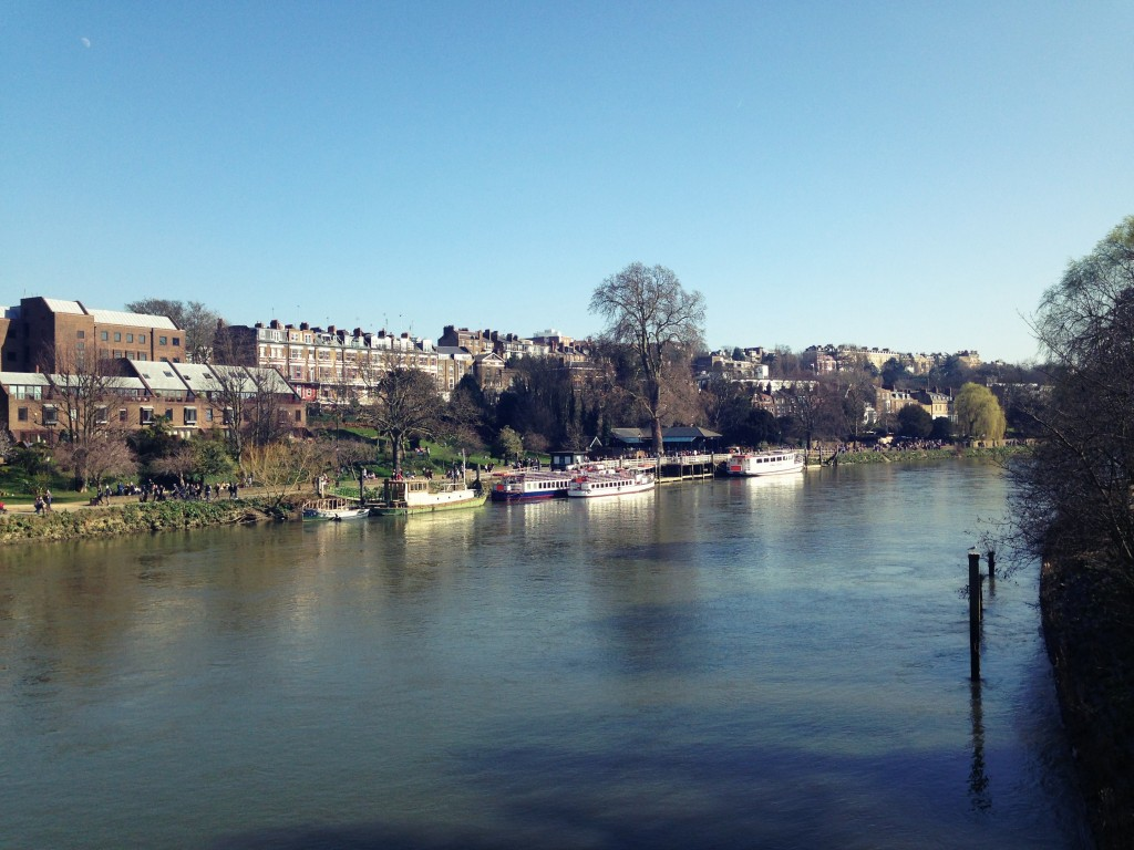 balade à Richmond upon Thames