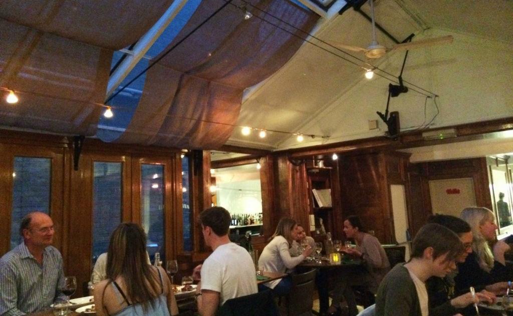 Bellevue Rendez-vous, restaurant français à Londres