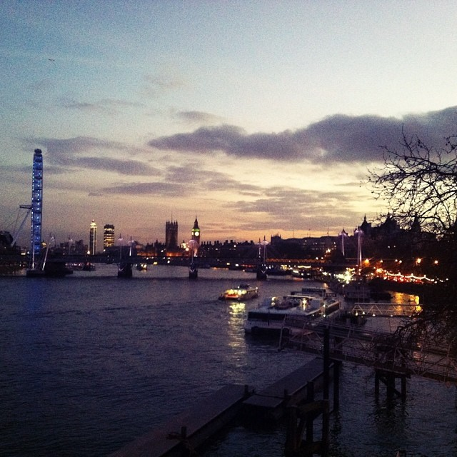 Depuis waterloo bridge