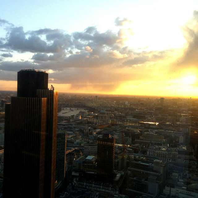 vue depuis duck and waffle