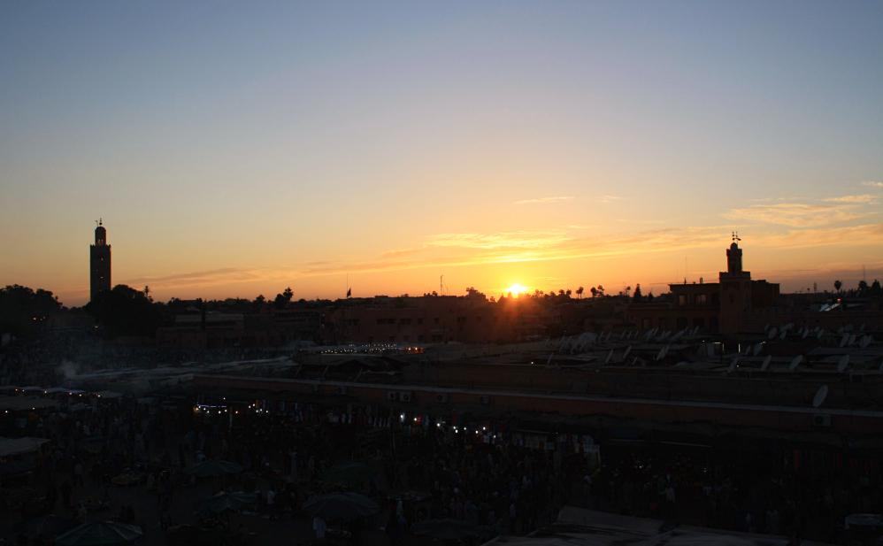 Coucher de soleil Jema El Fna 3