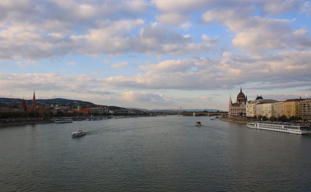 Danube depuis chain bridge