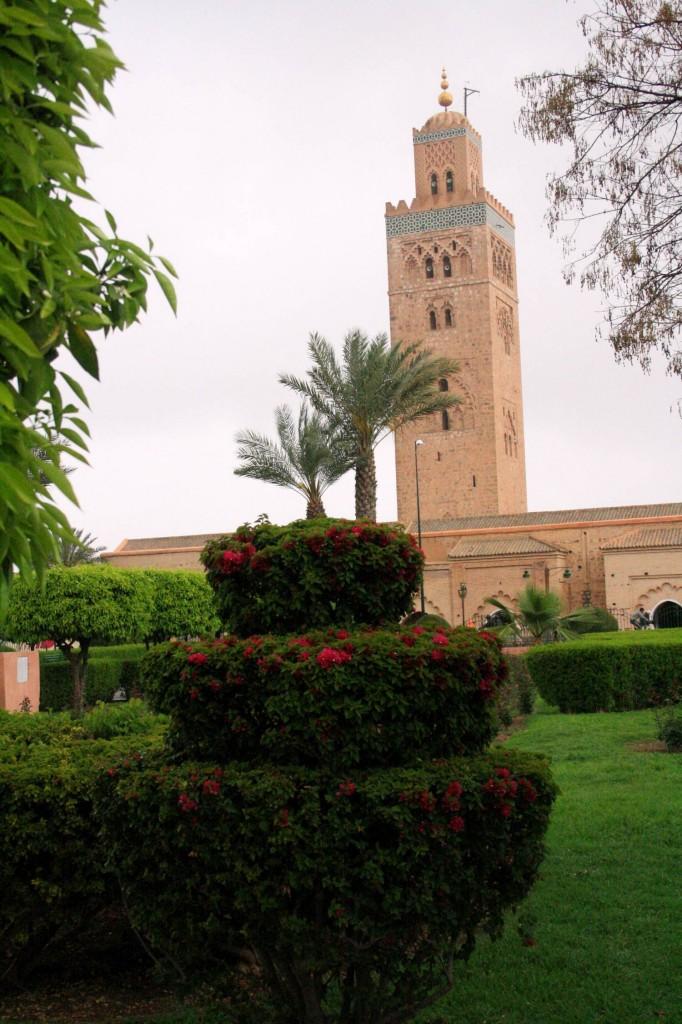 Quelques jours marrakech for Jardin koutoubia