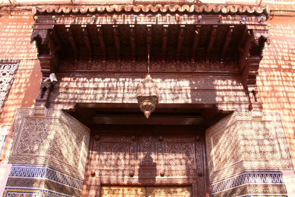 Porte Palais Marrakech