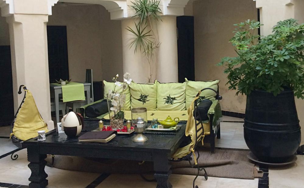 Riad lobby