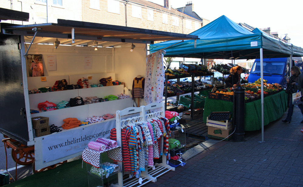 Clapham junction market