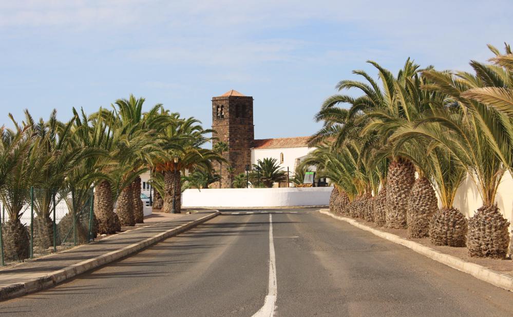 La Oliva route