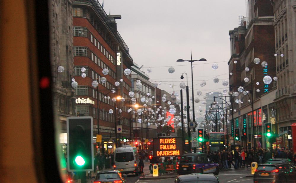 Lumières Oxford Street