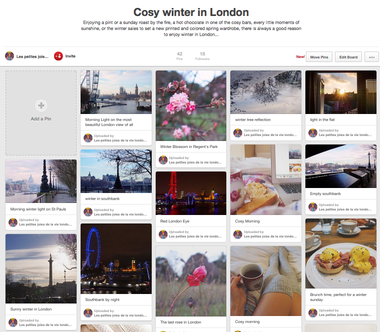 Pinterest cosy winter