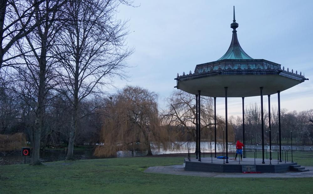 Regent's park chapiteau