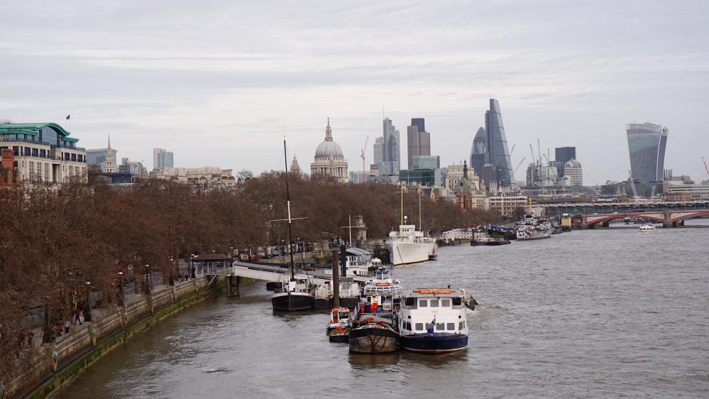 l'hiver à Londres