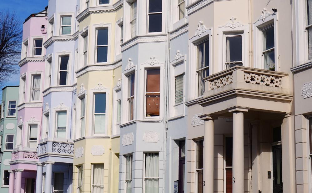 Balade à Notting Hill Maisons pastels