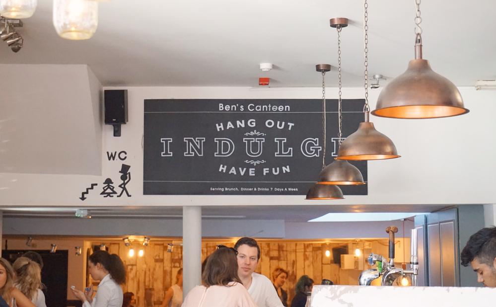 Ben's Canteen Indulge