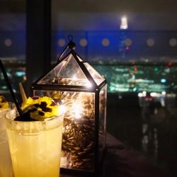 Cocktails bar à vue à Londres Sky Garden