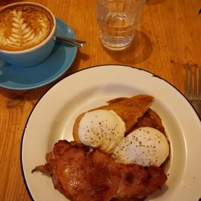 Eggs and Bacon Ben's Canteen