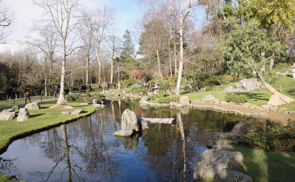 Holland Park jardin japonais