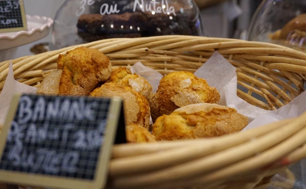 muffin banane peanut butter