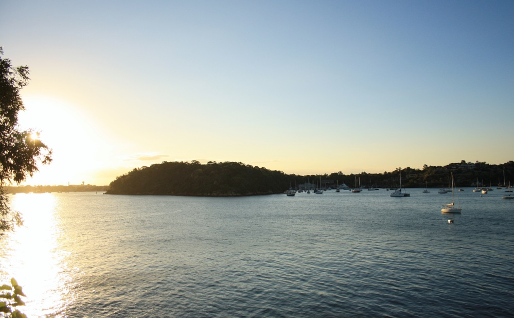 2 semaines à Sydney_Coucher de soleil blues point 3