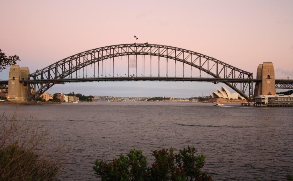 2 semaines à Sydney_Coucher de soleil blues point 8