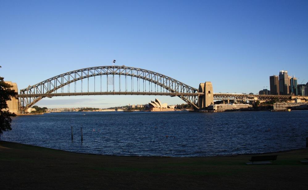 2 semaines à Sydney_Coucher de soleil blues point