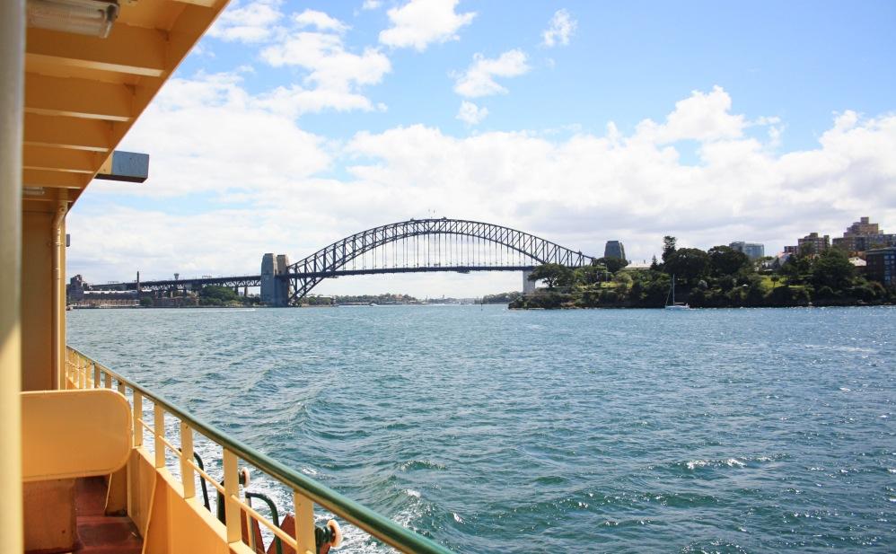 2 semaines à Sydney_Ferry 5