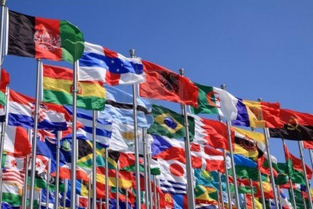 vie d'expat drapeaux