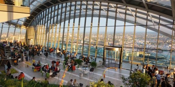 Bar à vue à Londres_Sky Garden