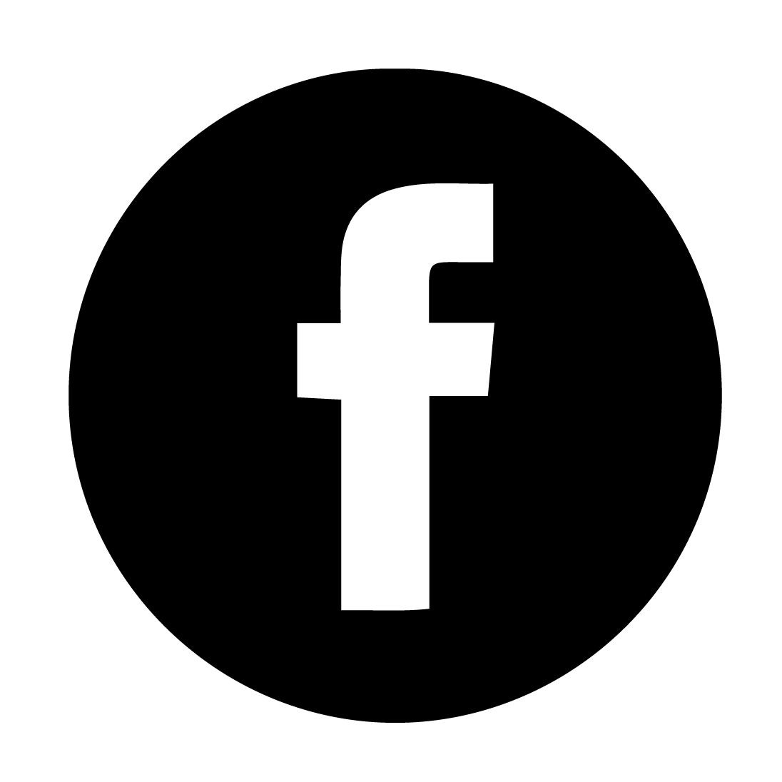Fotos - Facebook Logo Black And White