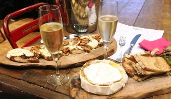 champagne-fromage_restaurant-Français-a-Londres