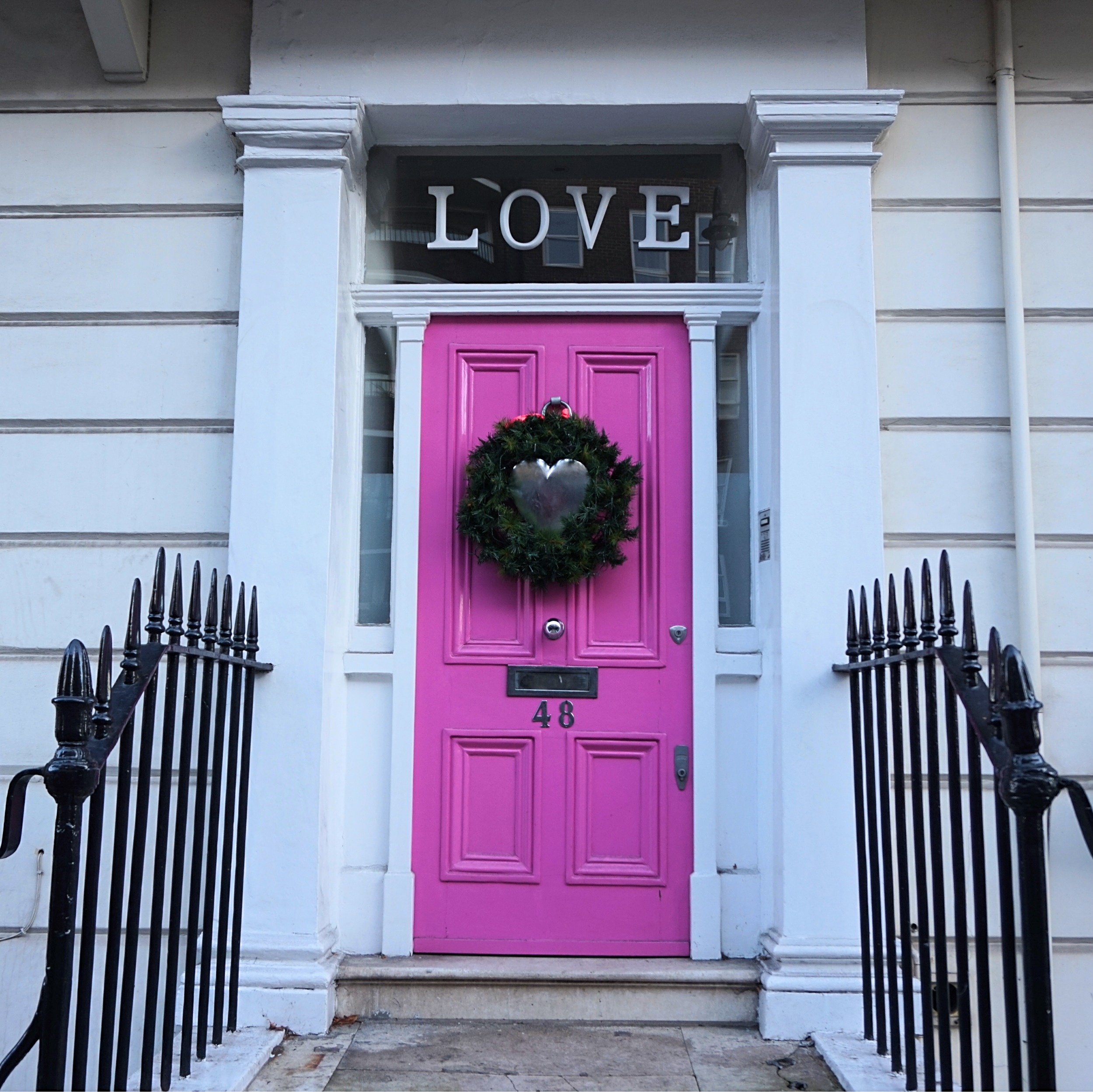 Love Door & The most colourful streets in London