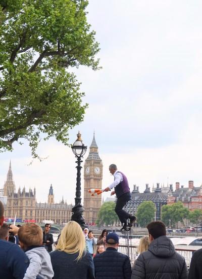 Jongleur Big Ben