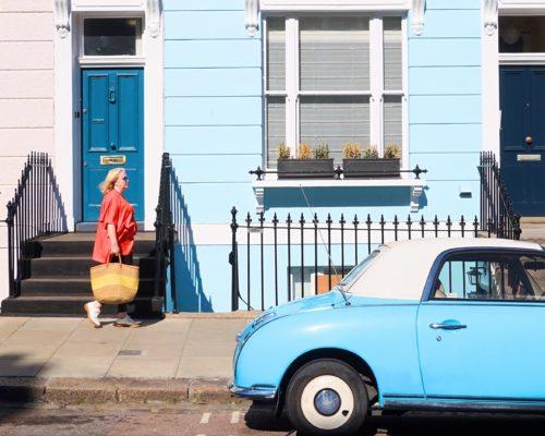 Primrose Blue Car