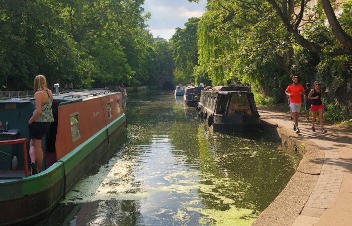 Courir a Londres - Canal
