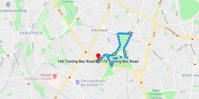Courir à Londres - Tooting Bec