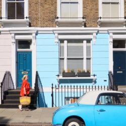 Primrose-Hill-Blue-Car